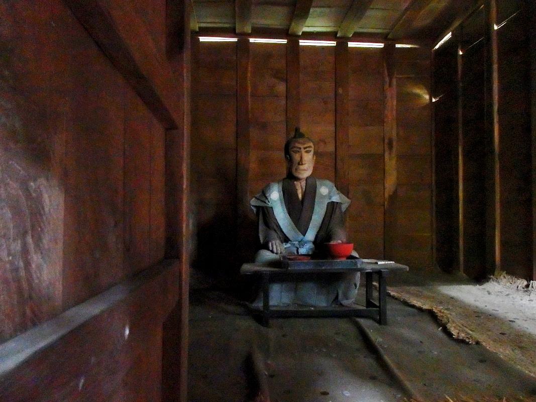 加賀藩の刑務所だった「流刑小屋」