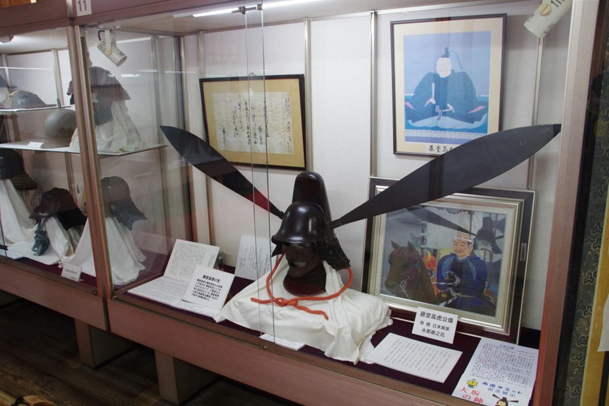 大天守閣で藤堂高虎ゆかりの展示品を見てみよう