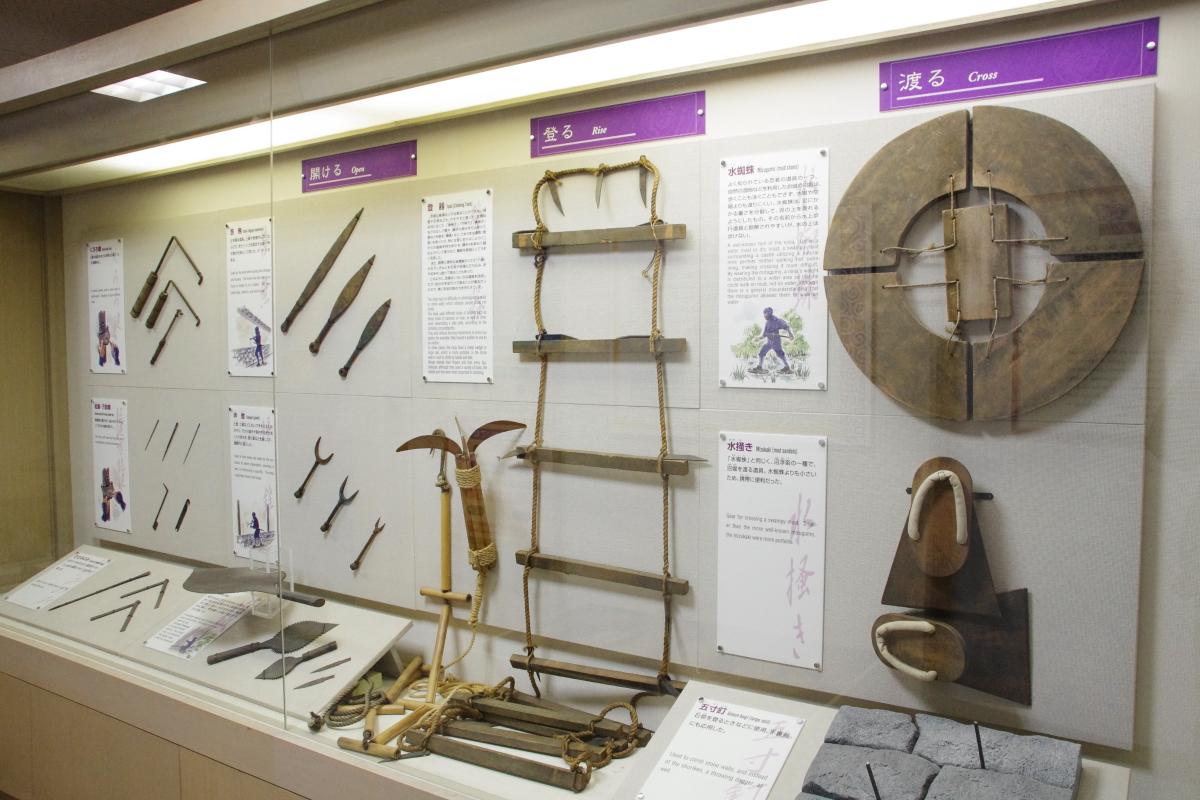 忍者体験館・忍者伝承館で忍者の忍具や知恵を再発見しよう
