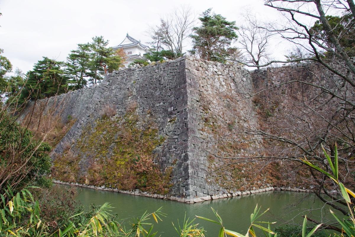 「伊賀上野城」は上野公園観光の中心であり伊賀市のシンボル