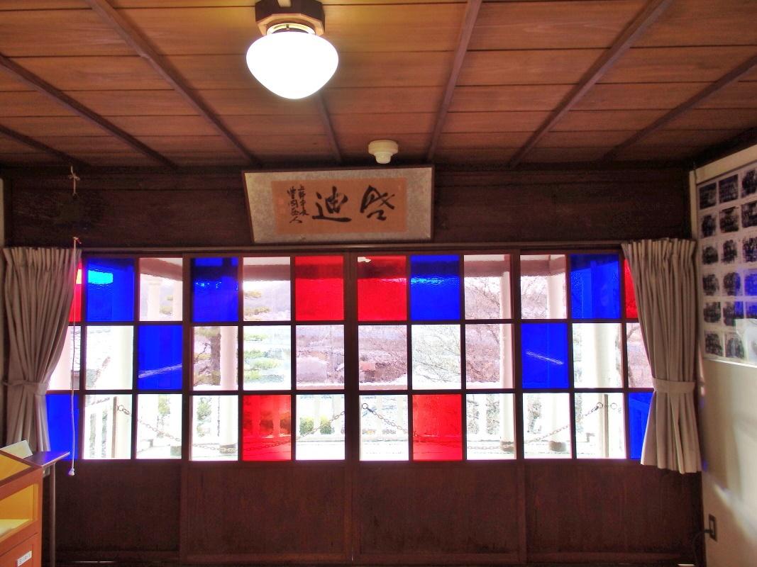 「昔の教室」や「ギヤマンの色ガラス」も楽しい