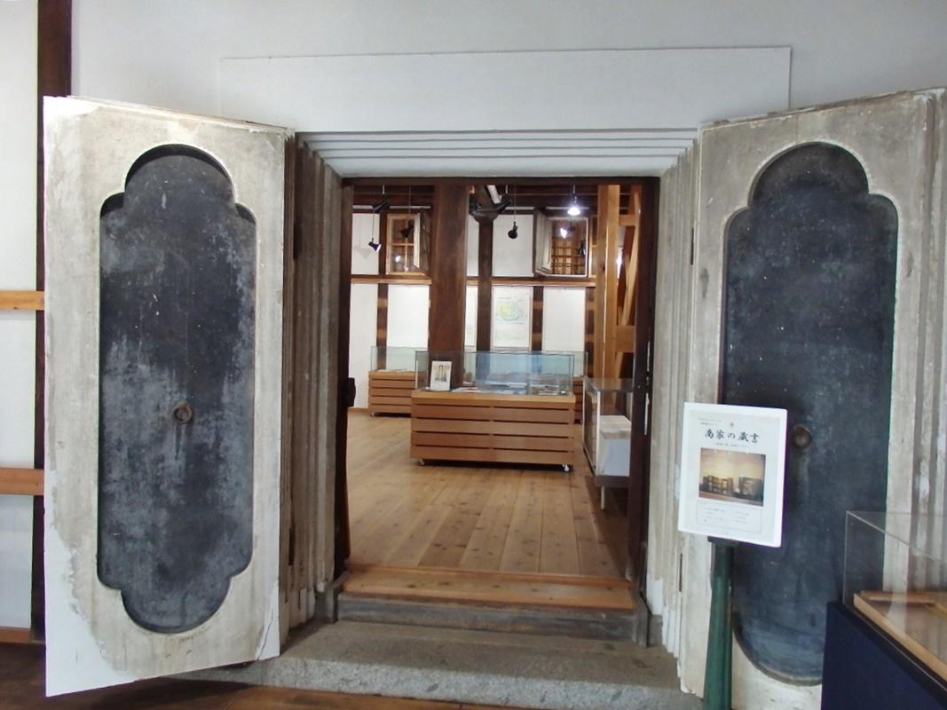 伊勢河崎の歴史資料の展示室「河崎まちなみ館」