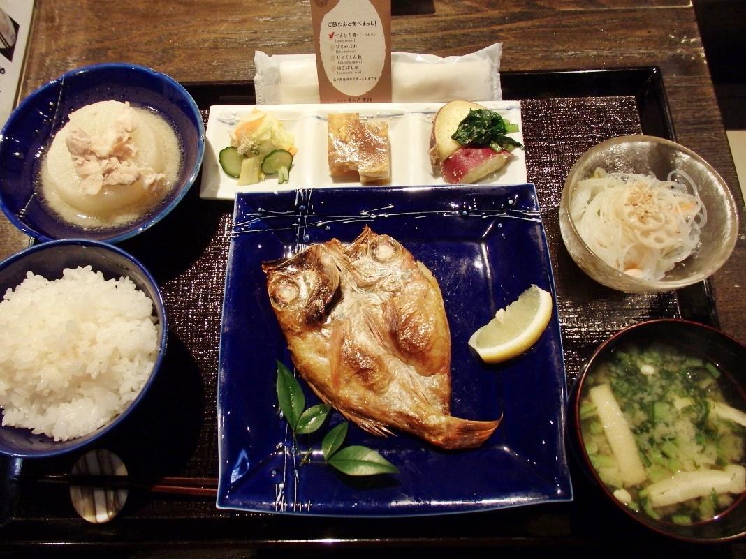 「金沢のおばんざい定食」のイチ押し「のどぐろ定食」とは
