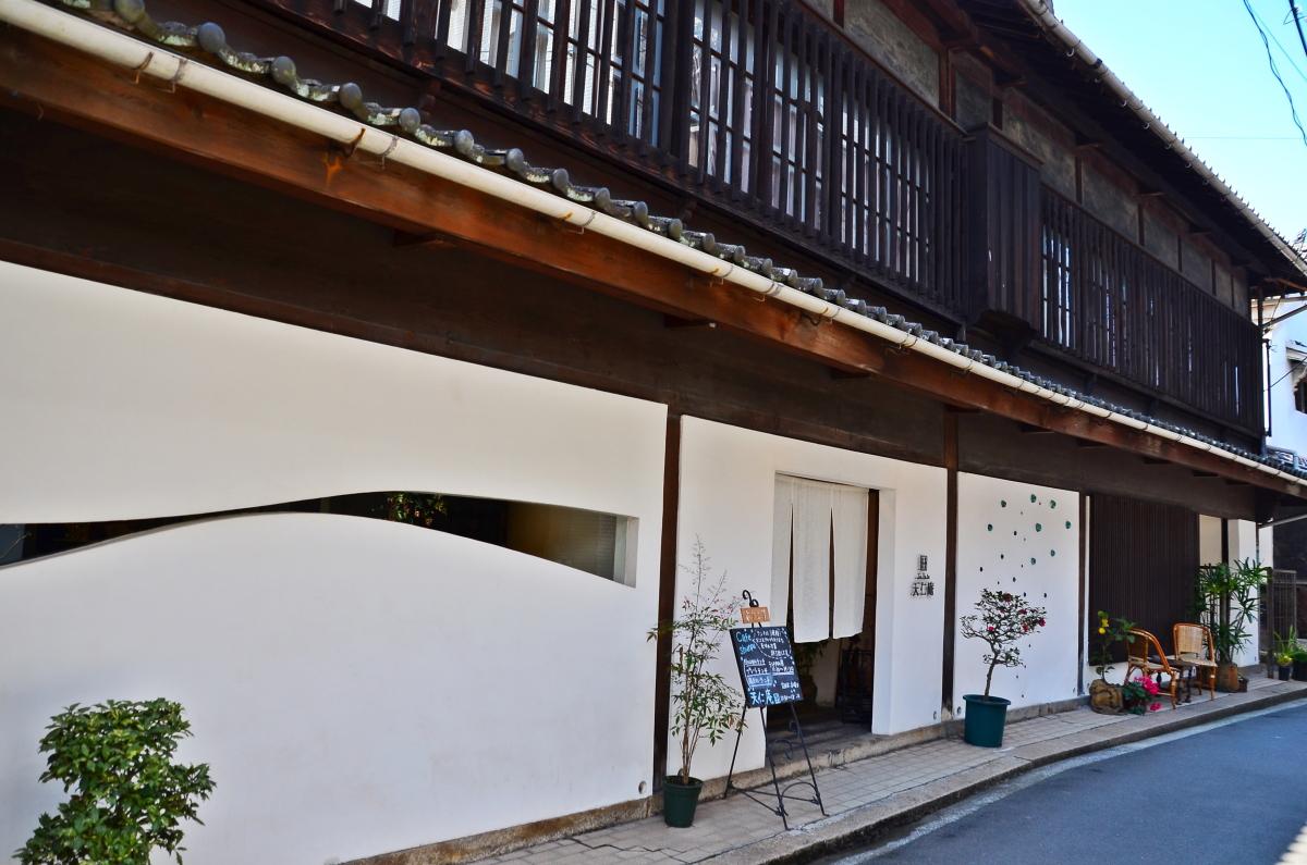 カフェ&レストラン「天仁庵」で美味しいランチをいただこう