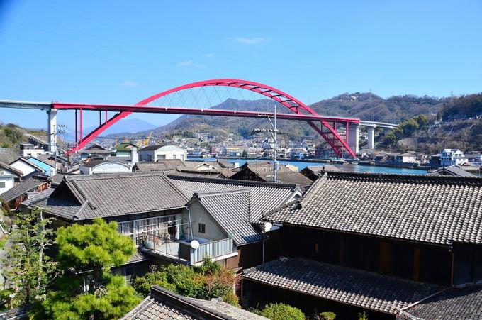 毛利家ゆかりの「法専寺」から2つの音戸大橋を眺めよう