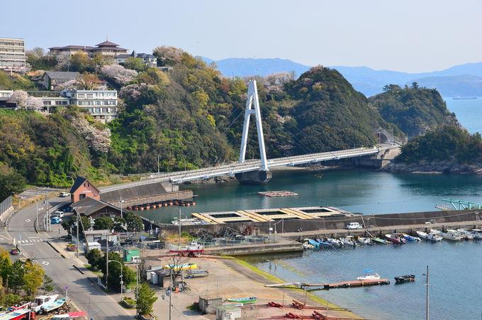 """「奥和歌大橋」から""""日本のアマルフィ""""のような景観を"""