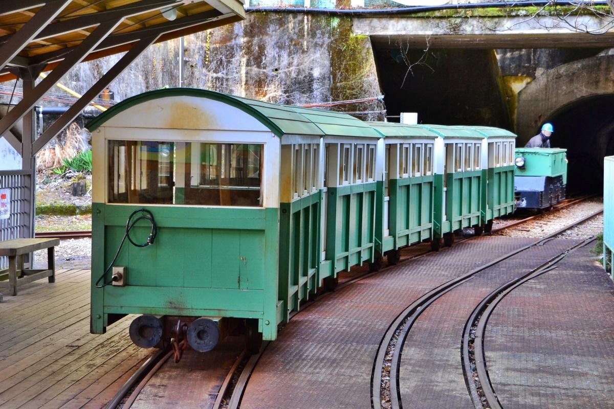 紀伊半島でただ一つの「トロッコ列車」