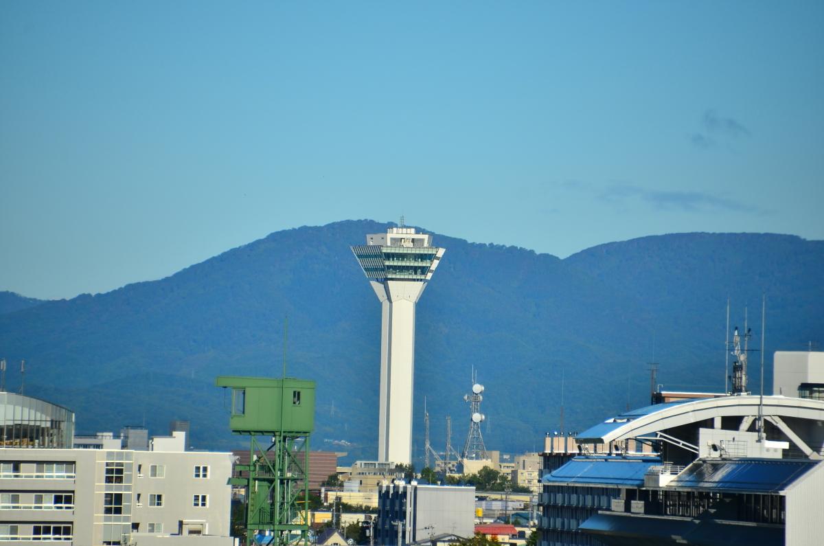 五稜郭のランドマーク「五稜郭タワー」
