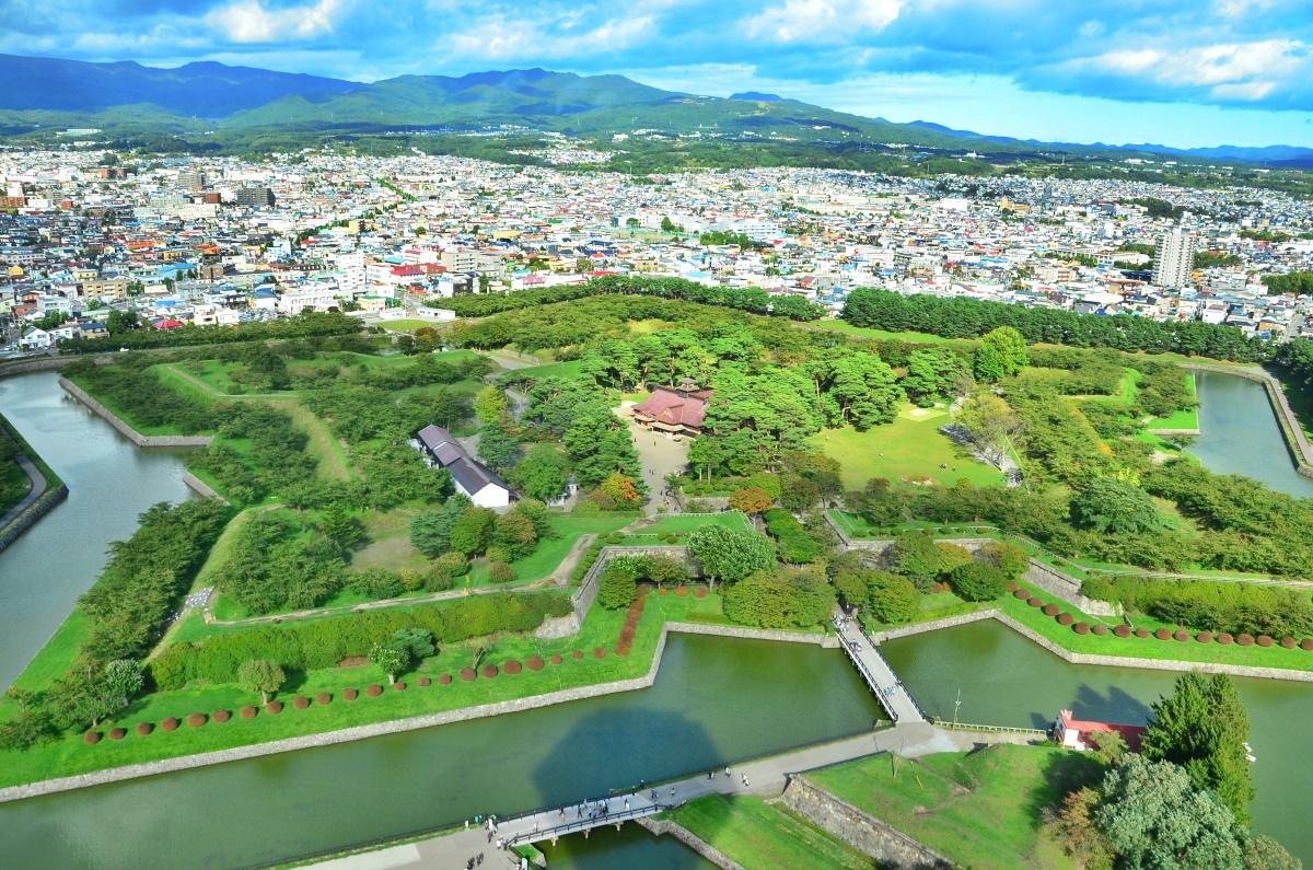 五稜郭タワーから特別史跡「五稜郭」を俯瞰しよう