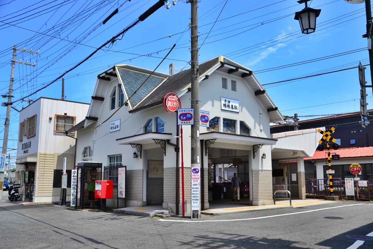 岸和田城下町の観光は「蛸地蔵駅」から