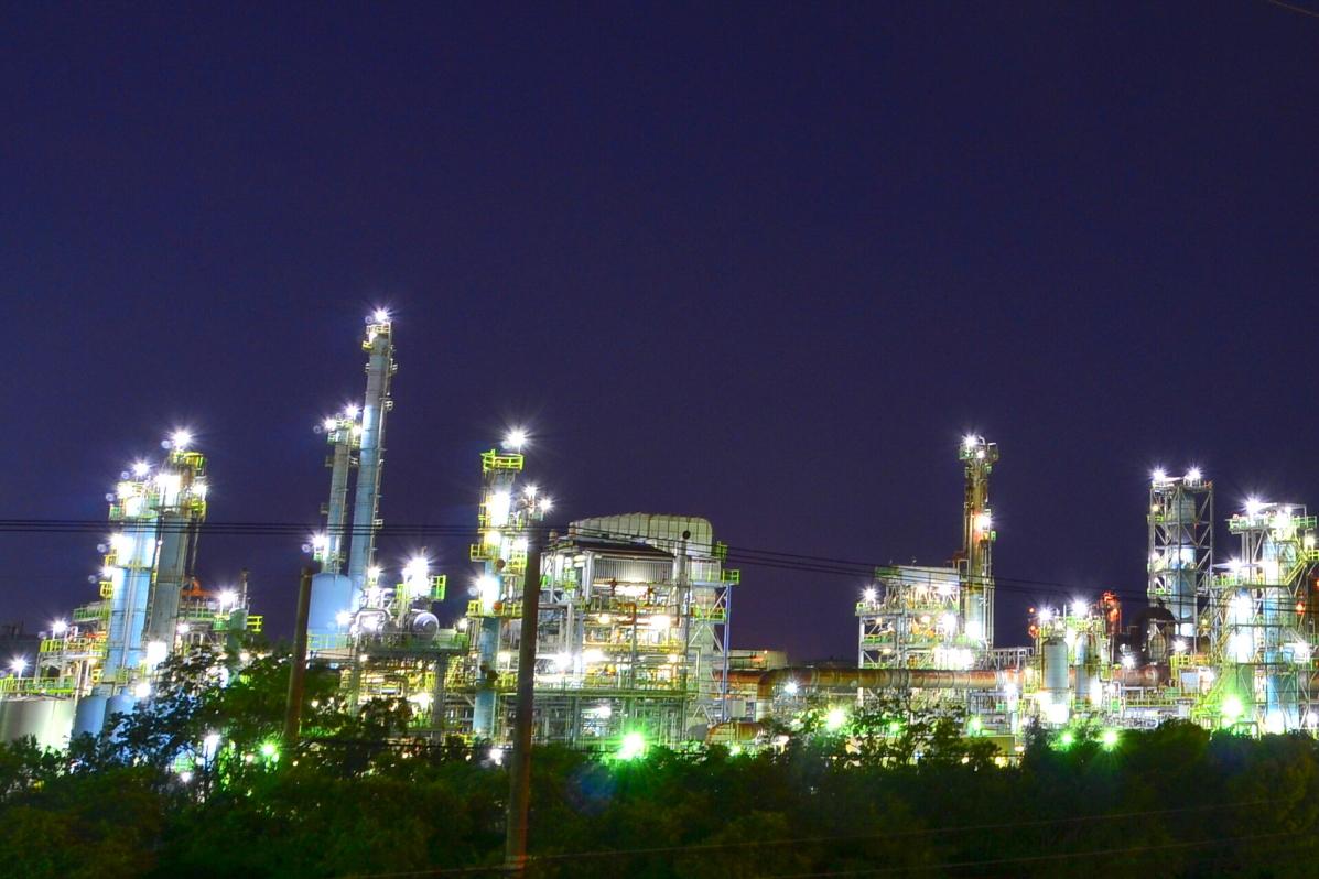 堺泉北臨海工業地帯の代表的スポット「高砂1丁目歩道橋」