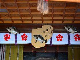 釣り愛好家人気の神社に煉瓦作りのカフェも 大阪「樽井」を歩く
