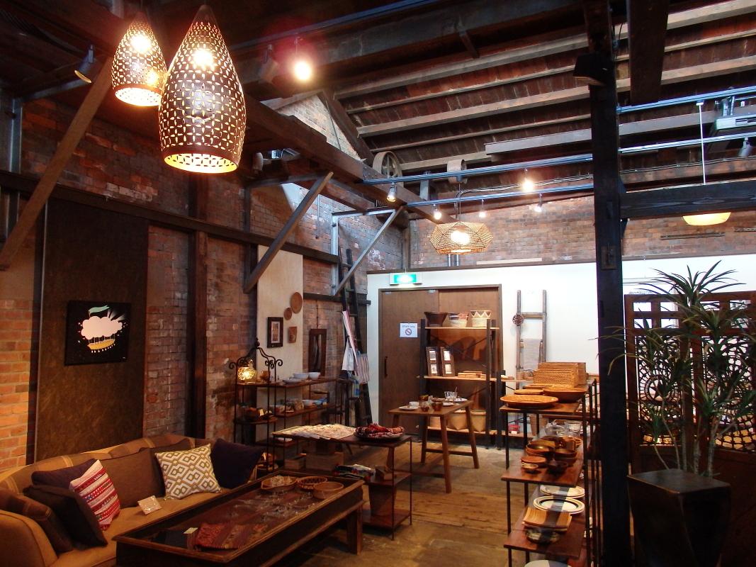 大正の香りが残る煉瓦カフェ「rojica (ロジカ)」
