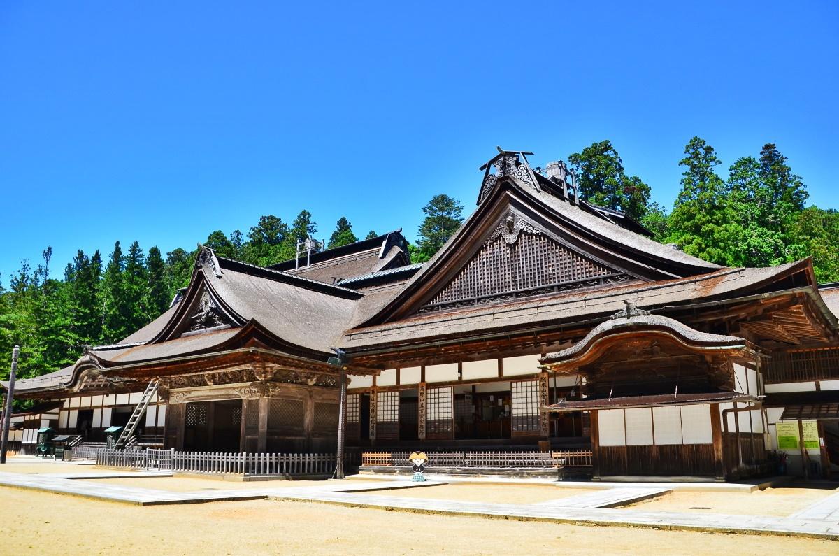 金剛峯寺のはじまりは豊臣秀吉ゆかりの青巌寺から