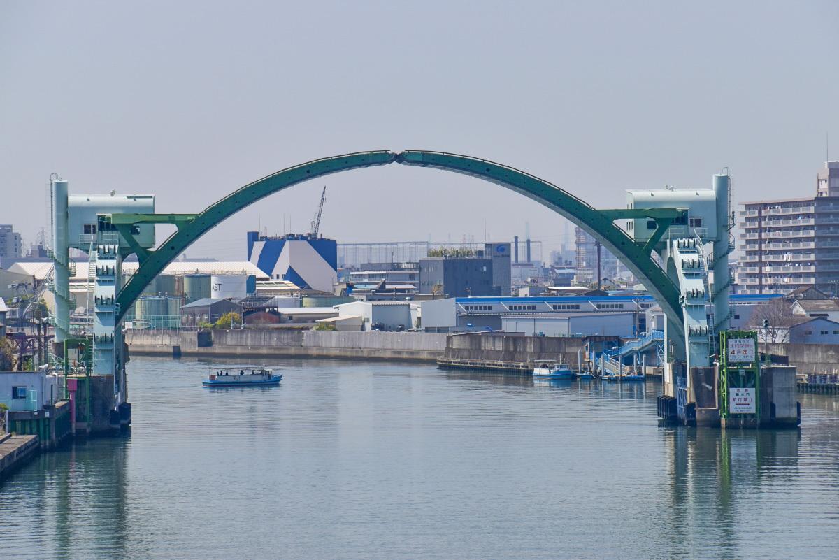 木津川大橋から木津川の眺めを楽しもう