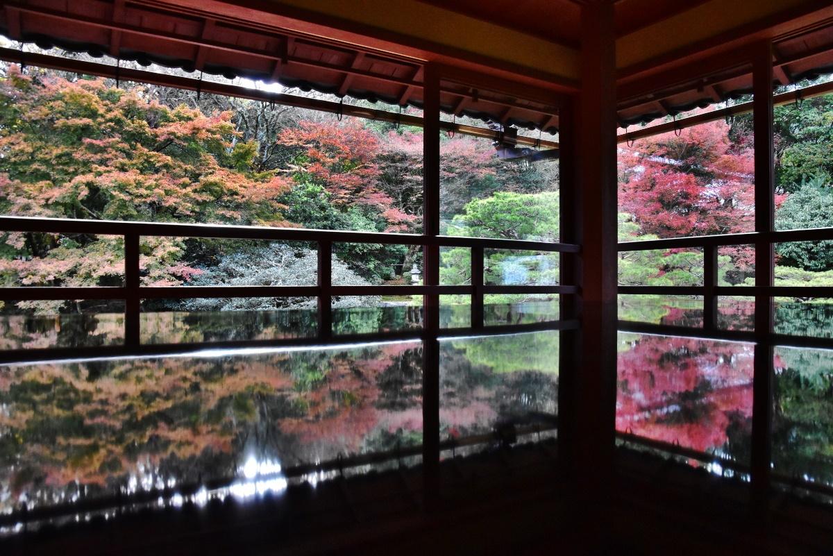 滋賀県のリフレクション撮影の名所「旧竹林院」