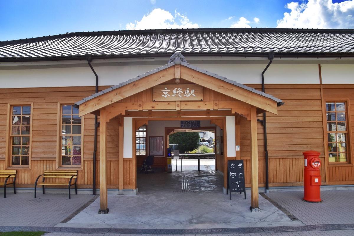 京終エリアの観光は、リニューアルされたJR京終駅から
