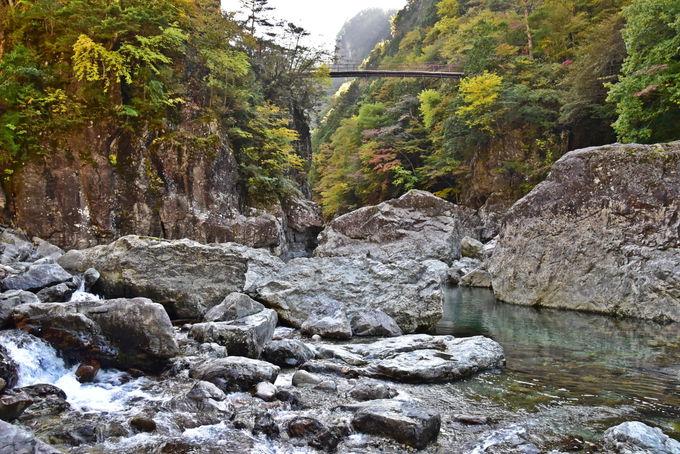 関西屈指の渓谷美!奈良・天川「みたらい遊歩道」を歩こう