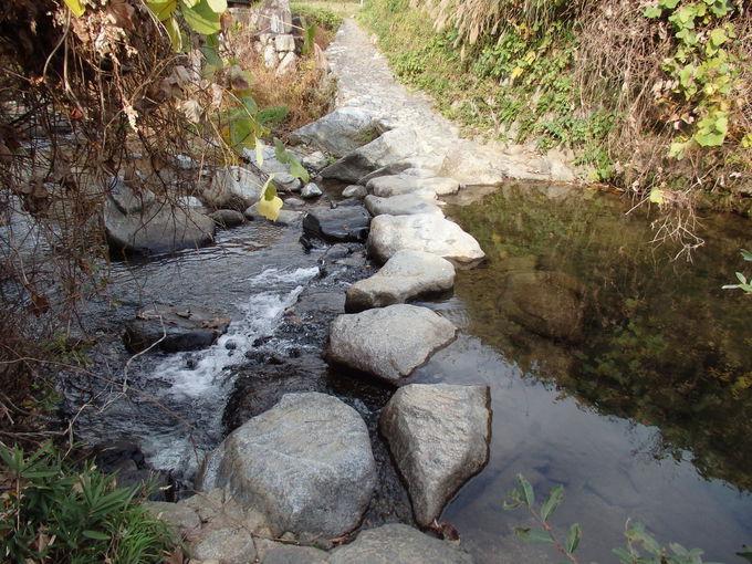 『万葉集』にも詠まれた「飛鳥川の飛び石」