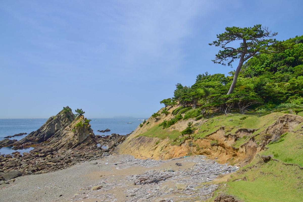 廃墟感とは真逆の爽やかな雰囲気が感じられる「友ヶ島灯台」