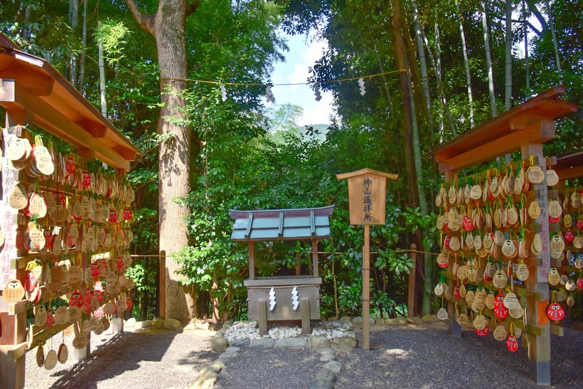 学問・知恵の神様として知られる「久延彦神社」