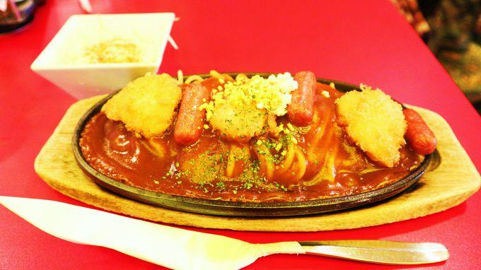 あんかけソースと太麺、さくさくフライの絶妙なハーモニーが醍醐味!