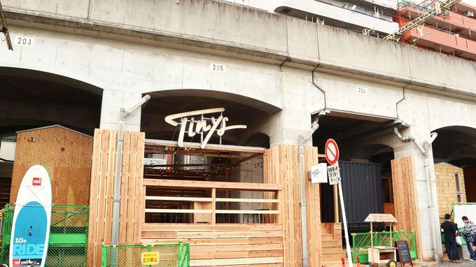 移動式「タイニーハウス」を使った宿泊施設