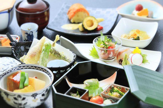 鎌倉の季節の味を丁寧に仕上げた和食に舌鼓