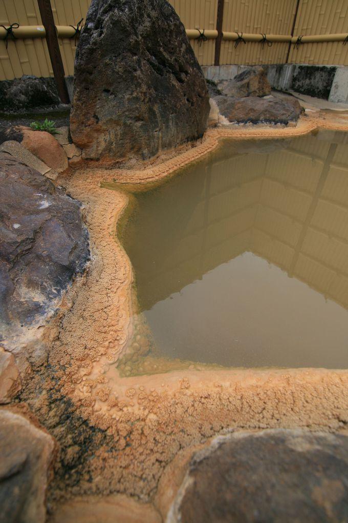 二酸化炭素を多く含んだ温泉