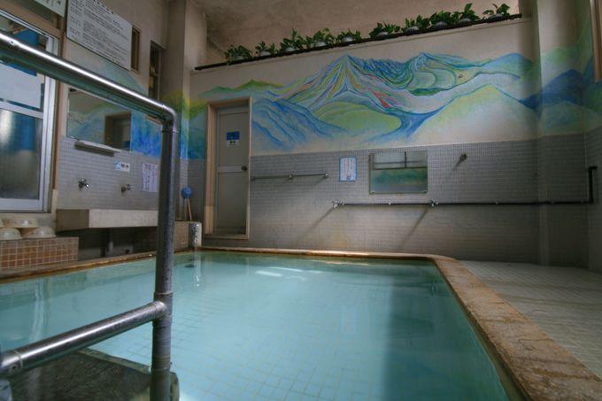 優しい雰囲気ほっと一息「末広温泉」