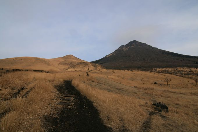 下山完了前に現れる一番美しい景色