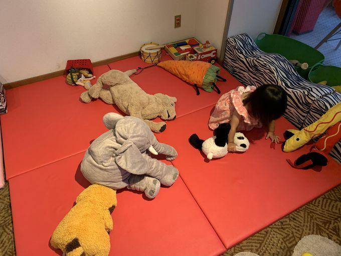 子どもが喜ぶ館内の配慮