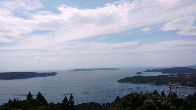 西側!猫島の網地島と田代島