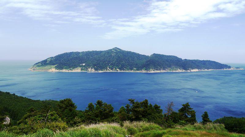「御番所公園」360度の一大パノラマ!海、島、そして蔵王の山並みも