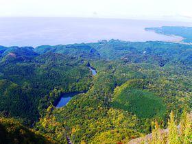 世界遺産・十二湖を一望!青森県の「大崩展望所」