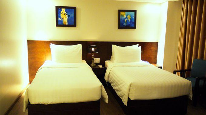 「ローズランド・センタ・ホテル&スパ」の魅力はシンプルで快適なお部屋