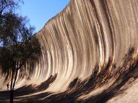不思議な岩たちと360度地平線の絶景!豪「ウェーブロック」