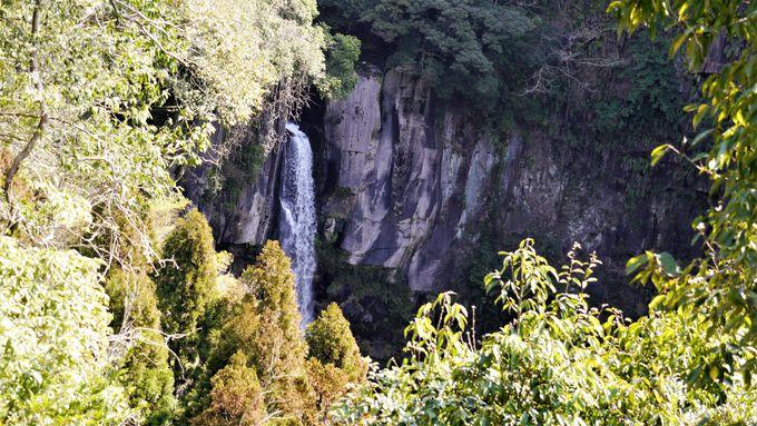 手軽に滝を眺められる「滝見台」