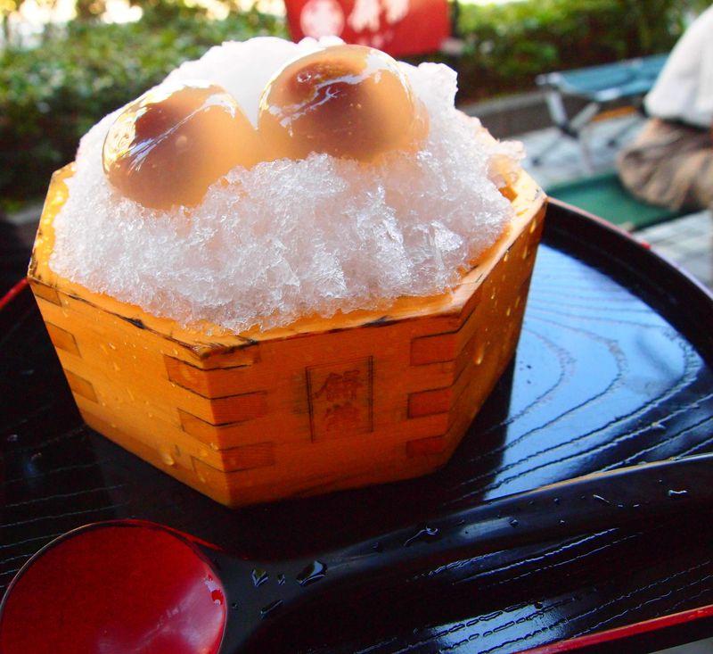 水の都・大垣では、夏スイーツと自噴水でひんやり涼もう!