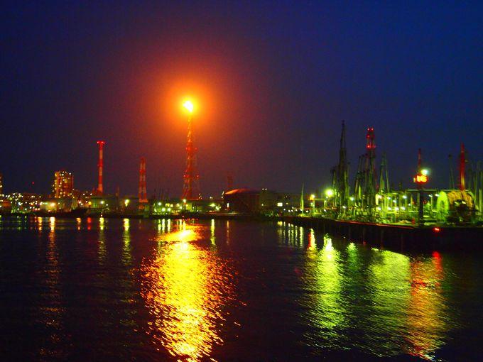 「コスモ石油四日市製油所」はNo.1撮影ポイント
