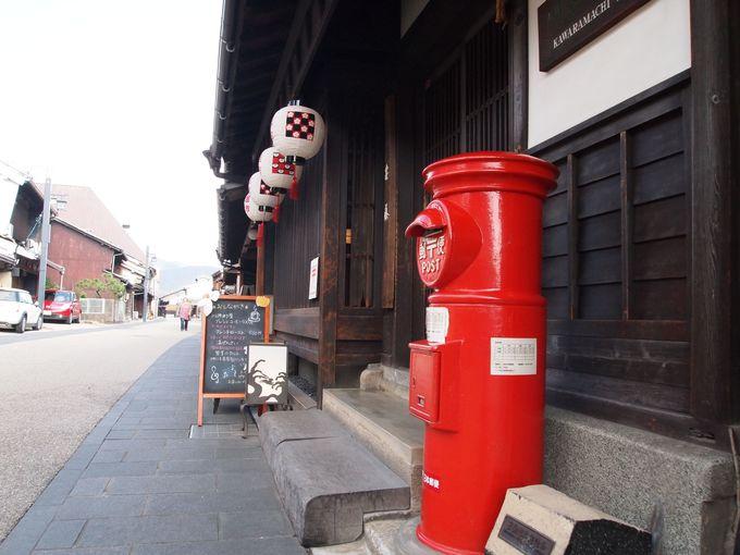 江戸〜明治時代、木材や美濃和紙を運ぶ水運の要所だった川原町界隈