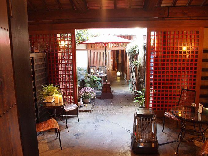100年以上前の和紙問屋を改装したカフェ「川原町家」