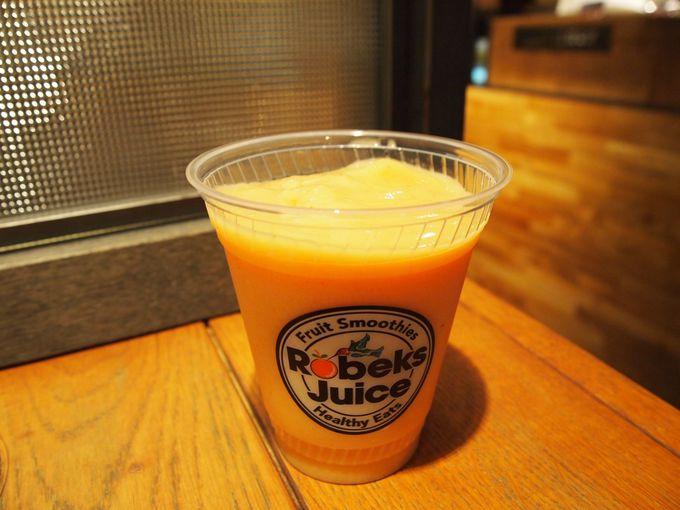 【その1】LA発のスムージー店『Robeks Juice原宿店』(ロベックスジュース)
