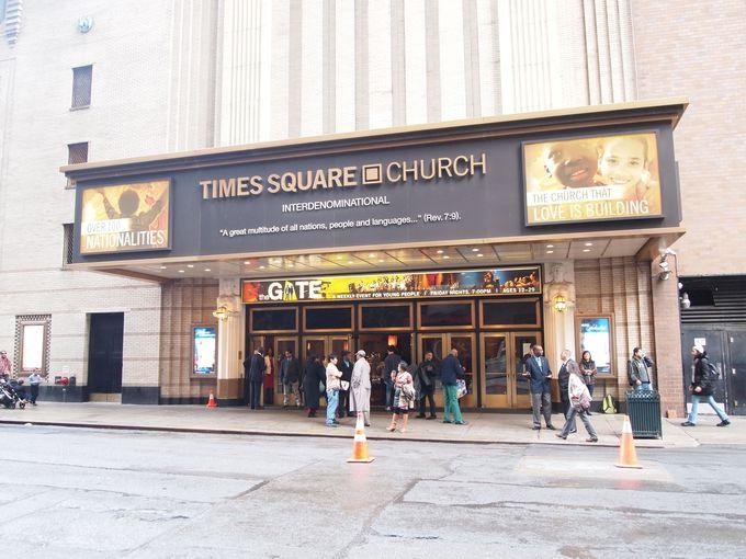 本場のゴスペルに感動!「Times Square Church(タイムズスクエア教会)」