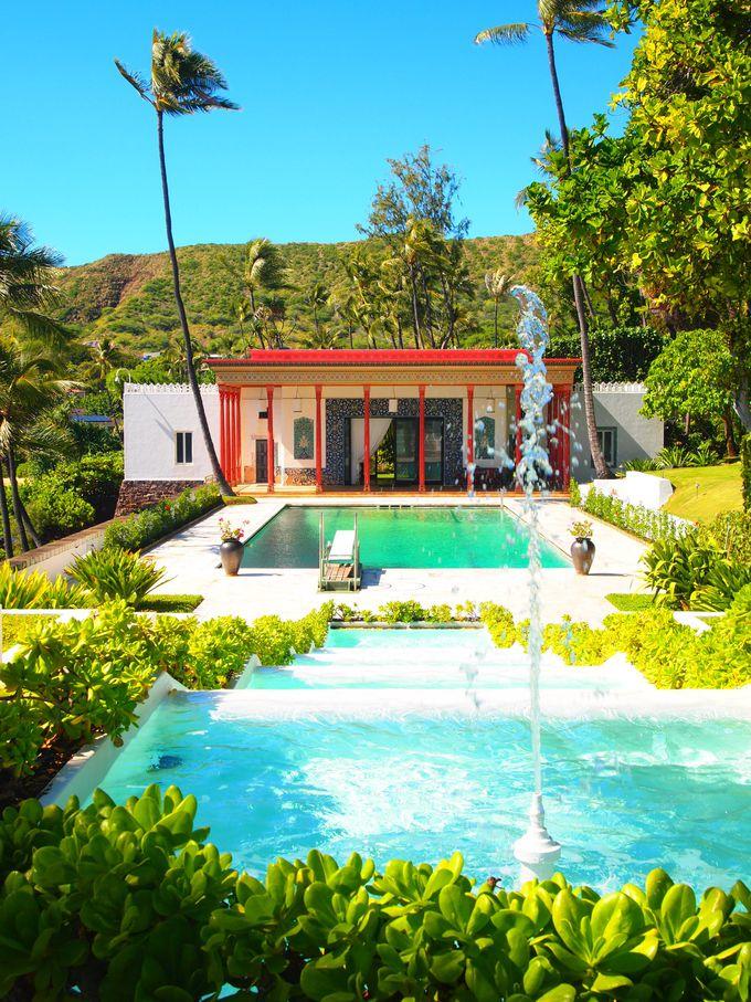 美術館主催、カハラの豪邸「シャングリラ」散策ツアーもオススメ!