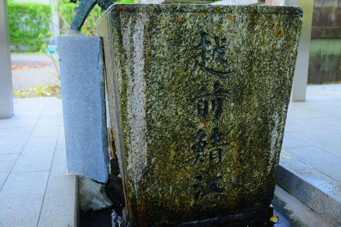 縁結びの神社として有名な「結神社」