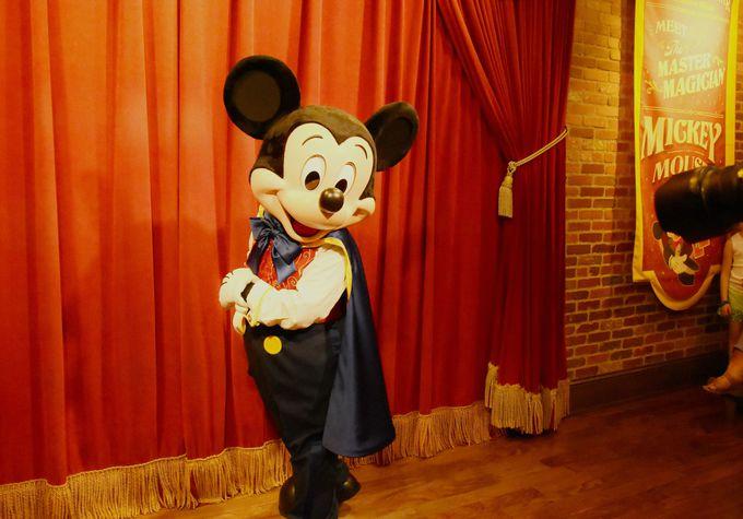 マジシャンミッキーの楽屋を訪問!