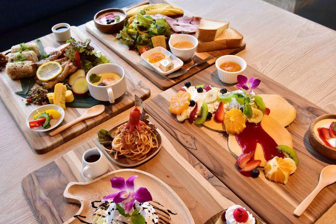 朝食からディナーまで使える「瀬良垣カフェ」もオススメ