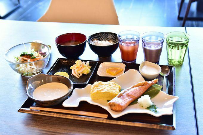 レストランや団らんスペースが素敵!