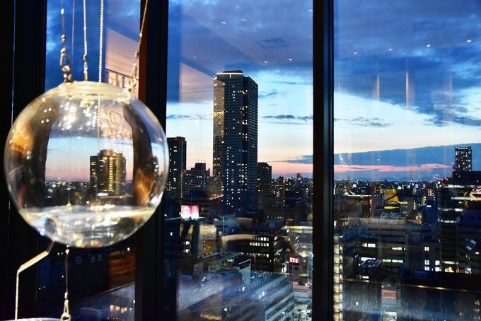 ホテルコンセプト「大阪万華鏡」の世界観があふれる建物内!